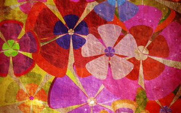 fon, cvety, raznocvetie, yarko, tekstura