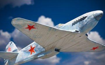 the plane, nebo, zvezda, vojna, den pobedy