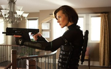 milla jovovich, resident evil 5: retribution