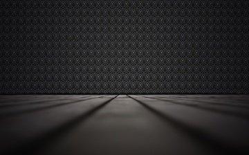 текстура, цвет, черный, комната, поверхность, 3д