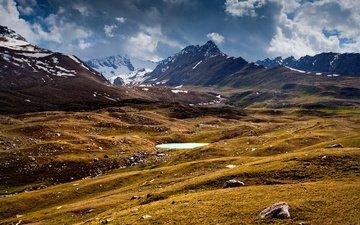 озеро, горы, киргизия, кыргызстан, тянь-шань, чистопрудов дмитрий