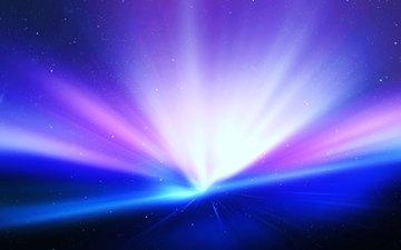 абстракция, звезды, сияние, вселенная, пространство, красиво