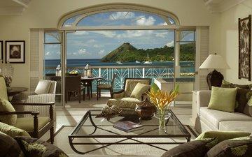 interior, sea, yachts, tropics