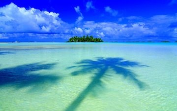 остров, тропики