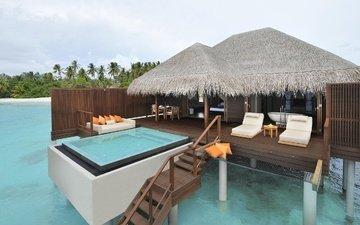 bungalow, tropics