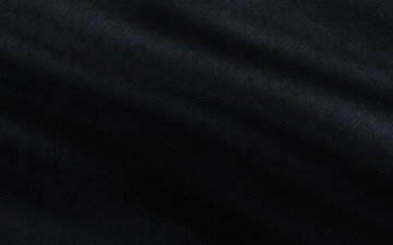black cloth, soft pleats
