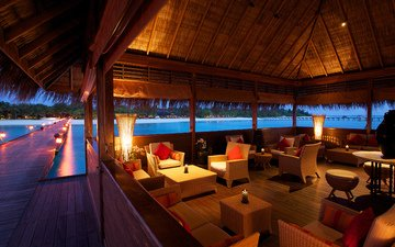 interior, beach, tropics, the maldives