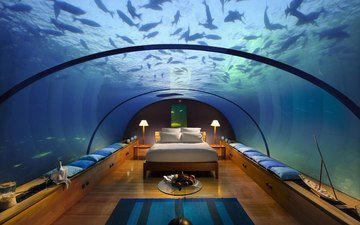 interior, under water, tropics, the maldives