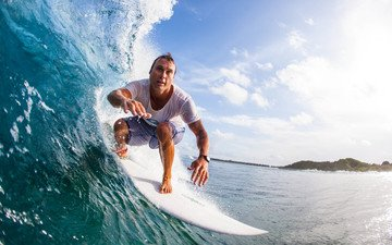 surfing, tropics, the maldives
