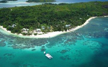 природа, океан, отдых, экзотика, сейшельские острова