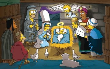christmas, the simpsons, bart