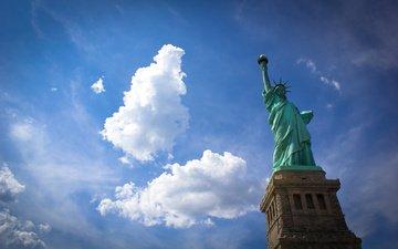 сша, нью-йорк, статуя свободы, statue of liberty, нью - йорк