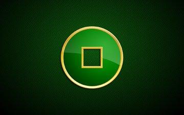 текстура, зелёный, цвет, круг, квадрат