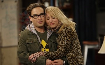 the big bang theory, the series, penny, leonard, kaley cuoco, johnny galecki