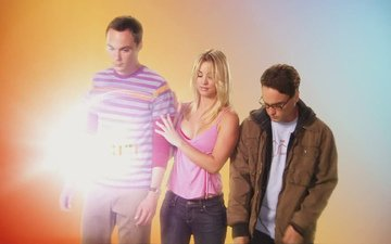 the big bang theory, the series, penny, sheldon, leonard