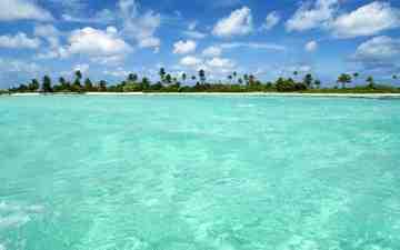 пляж, остров, тропики, мальдивы