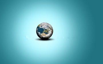 zemlya, minimalizm, planeta