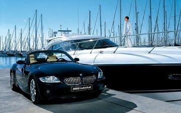 машина, яхты, бмв, z4