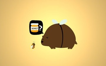 pchela, medved, med