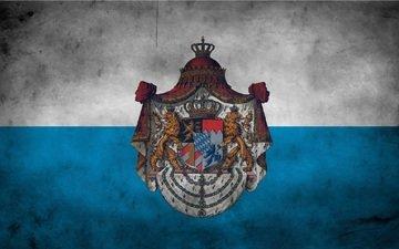 флаг, gerb, bavariya, myunxen, germaniya, flagi, lvy, imp