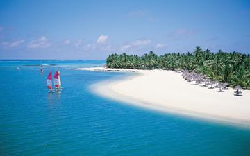 пляж, тропики, мальдивы