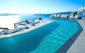 sea, greece, the hotel