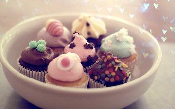 праздниг, nastroenie, pirozhnye, tarelka, eda, десерд