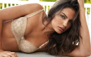 girl, model, underwear, alyssa miller