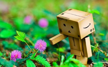 данбо, dambo, картонный человечек, картонный робот