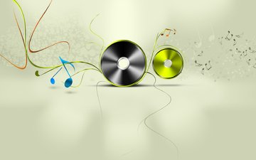 muzyka, dvd, diski, компакт-диск