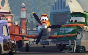 """planes"", kukuruznik dusty, dusty poleypole — a humble laborer-plane"