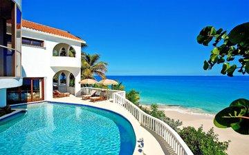 море, пляж, тропики, фазенда