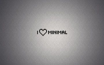 fon, nadpis, minimalizm