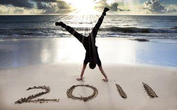2011 год, paren, plyazh, poza
