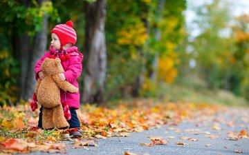дети, детство, деревь, маленькая девочка, дитя