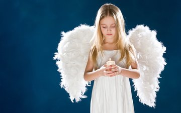 девушка, грусть, дети, ангел, свеча, детство, крылышки, миленькая, де, svechi, krylya, rebenok, grust, deti, gевочка, дитя