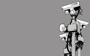 kamery, nablyudenie, bolshoj brat, 1984