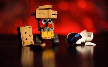 робот, makro, korobka, pobeda