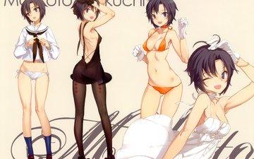 девушка, idolmaster, kikuchi makoto
