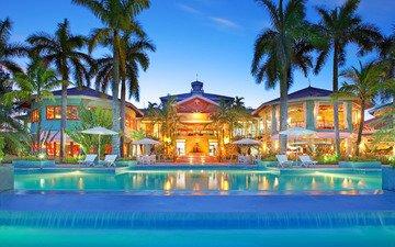 бассейн, курорт, тропики