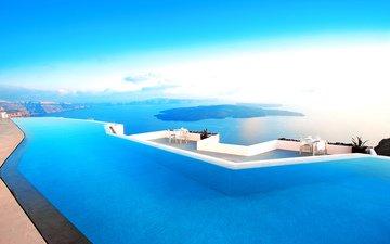 море, греция, отель