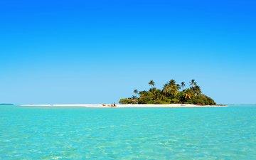 море, остров, тропики