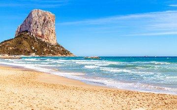 море, скала, тропики