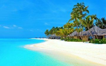 море, пляж, тропики