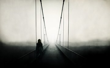 vid, zabor, most, nastroenie, pejzazh, mostik, poruchni