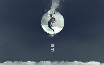луна, глаз, рызрыв, разрыв, luna, glaz