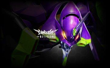 робот, аниме, neon genesis evangelion, евангелион