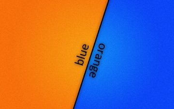 fon, oranzhevyj, sinij