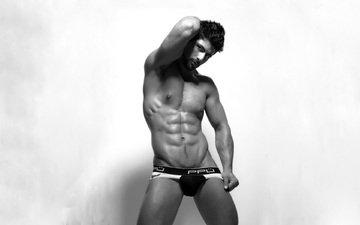 guy, male, muscle, nude