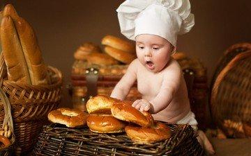дети, ребенок, мальчик, малыш, выпечка, поварёнок, анна леванкова